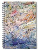 Fragmented Sea Spiral Notebook