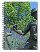 The Seabees At Arlington Spiral Notebook