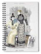 The Season, Fashion Plate For The Spiral Notebook