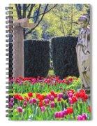 The Secret Garden Of The Goddess Spiral Notebook