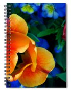 The Secret Life Of Tulips Spiral Notebook