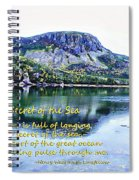 The Secret Of The Sea Spiral Notebook