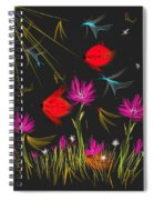 The Secrets Of The Night Spiral Notebook