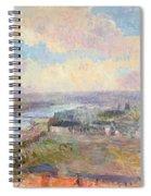 The Seine At Rouen Spiral Notebook