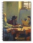 The Seven Rabbis In Jerusalem Spiral Notebook