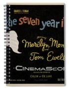 The Seven Year Itch Spiral Notebook