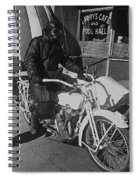 The Shadow Of The Eagle Homage 1932 Jack Wilson Stuntman Globe Arizona 1969 Spiral Notebook