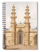 The Shaking Minarets Of Ahmedabad Spiral Notebook