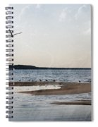 The Shallows At Whitefish Bay Spiral Notebook