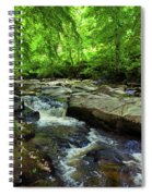 The Shankhill River Shortly Spiral Notebook