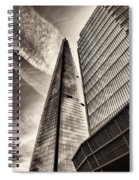 The Shard - The View Spiral Notebook