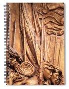 Saint Gaudens -- The Shaw Memorial's Left Side Spiral Notebook