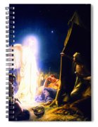 The Shepherds And The Angel Spiral Notebook
