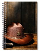 The Sheriff Office Spiral Notebook