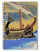 The Ship Of Odysseus Spiral Notebook