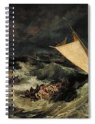 The Shipwreck Spiral Notebook