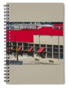 The Shipyards In Vancouver Spiral Notebook