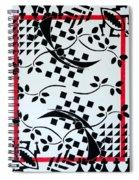 The Shogun's Garden Spiral Notebook