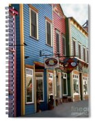 The Shops In Crested Butte Spiral Notebook
