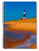 The Shore To Big Sable Spiral Notebook