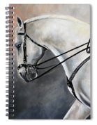 The Show Horse Stride Spiral Notebook