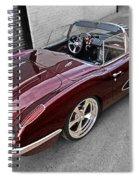 The Show Winner 1958 Corvette Spiral Notebook