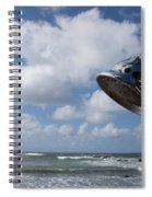 The Shower A Head Spiral Notebook
