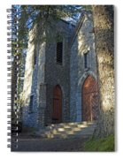 The Shrine Of St Therese Spiral Notebook