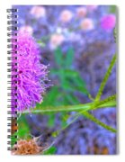 The Shy Plant Spiral Notebook