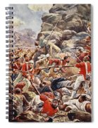 The Siege Of Delhi, 1857 Storming Spiral Notebook
