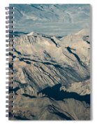 The Sierra Nevadas Spiral Notebook