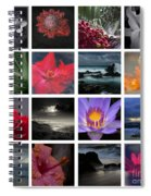 The Silence Of Time Spiral Notebook