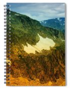The Silent Mountains Spiral Notebook