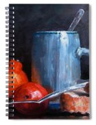 The Silver Cup Spiral Notebook