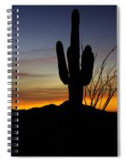 The Simple Beauty Of A Sunrise  Spiral Notebook
