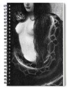 The Sin, 1893 Spiral Notebook
