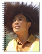 The Singing Boatman Spiral Notebook