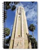 The Singing Tower  Spiral Notebook