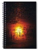 The Sinking Sun Spiral Notebook