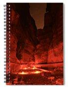The Siq -- Petra Spiral Notebook
