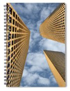 The Sky Is The Limit Spiral Notebook