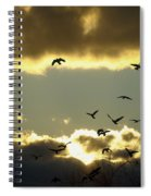 The Sky Opened Spiral Notebook