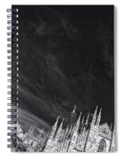 The Sky Over Cathedral Spiral Notebook