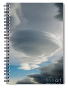 The Sky Over Puerto Natales In Patagonia Chile Spiral Notebook