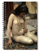 A Slave For Sale Spiral Notebook