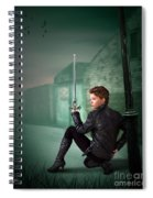 The Slayer Of The Dock Spiral Notebook
