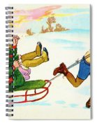 The Sled Spiral Notebook