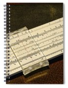 The Slide Rule Spiral Notebook