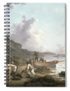 The Smugglers, 1792 Spiral Notebook