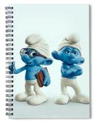 The Smurfs Movie Spiral Notebook